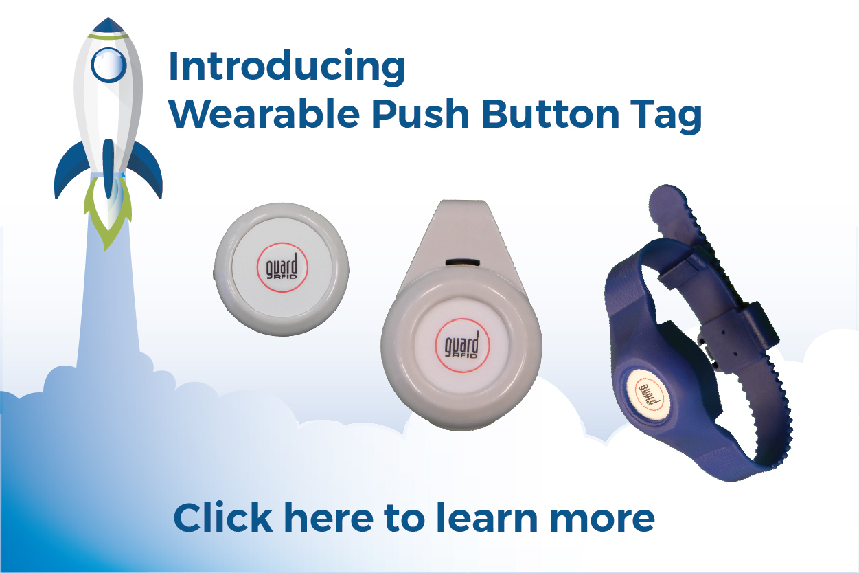 Push button tag