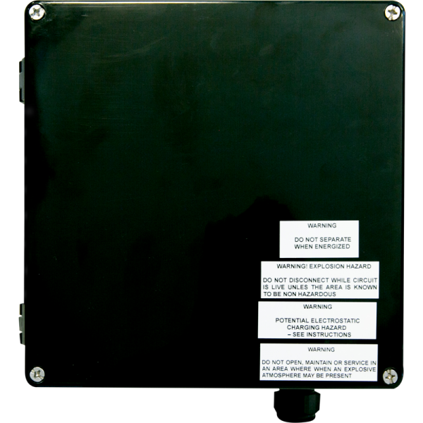 ITE-EX enclosure top view