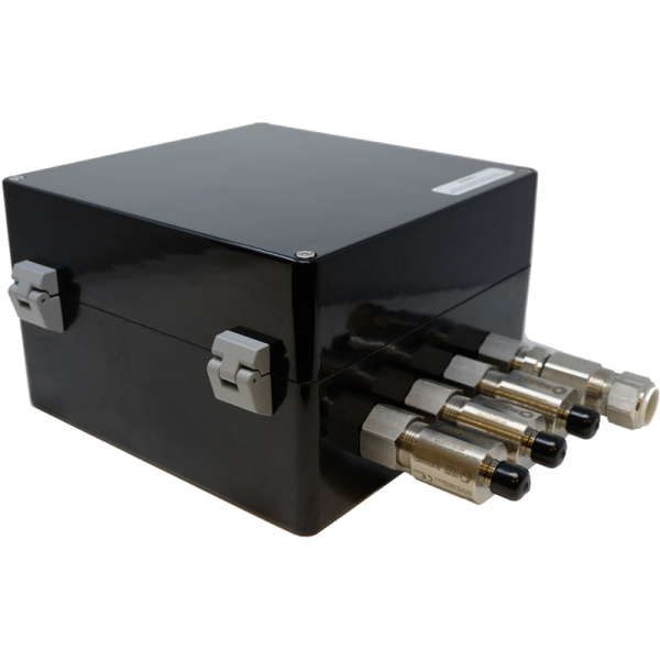 ITR2-EX enclosure with cable gland and antenna coupler