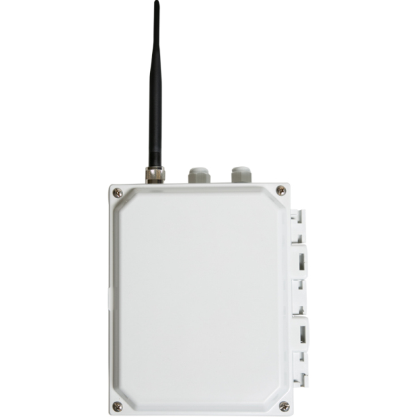 OTR enclosure with antenna installed